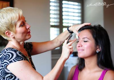 Karen- our makeup artist